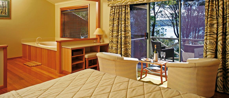 Freycinet Lodge - Premier Spa Cabin