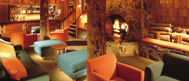 Warm Inviting Lounge