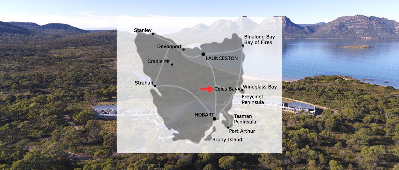 Location: Coles Bay, Tasmania