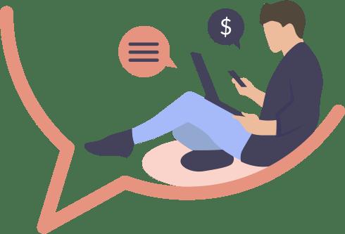 image rester en contact avec vos client