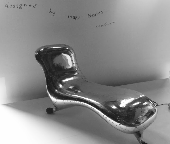 Marc Newson Chair at the Power House Museum