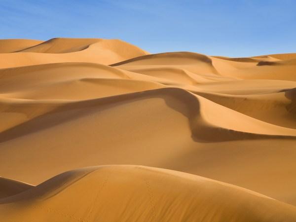 amazing desert landscapes - taste