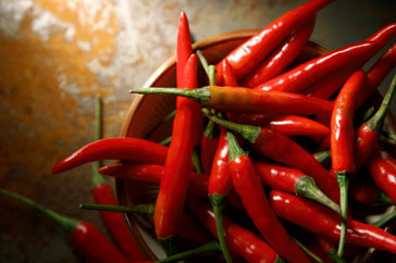 Red chillies