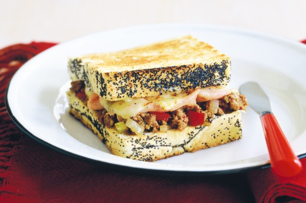 Sunday night toastie sandwiches
