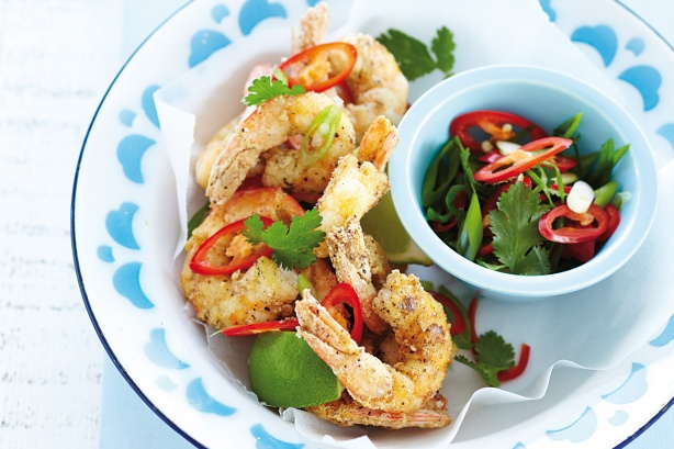 South Indain Style Prawns Fry