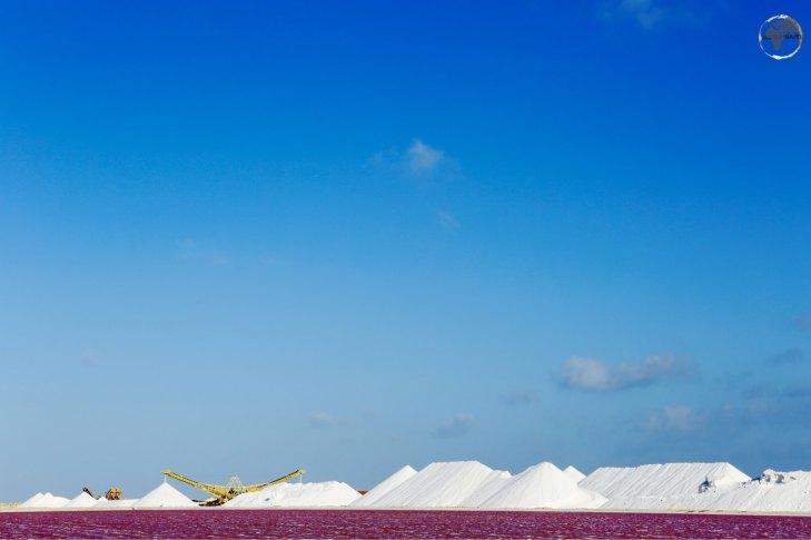 Salt Mine on Bonaire
