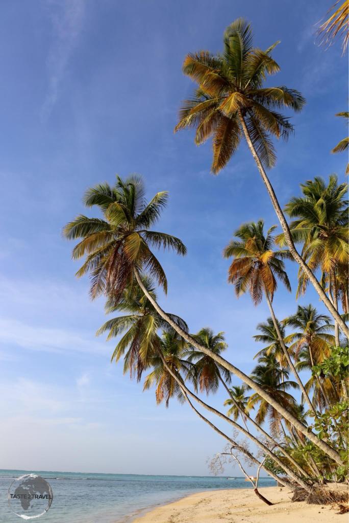 Pigeon Point beach, Tobago.