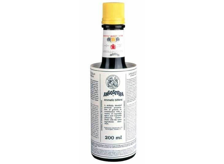 Angostura Bitters - proudly made in Trinidad.<br /> <i>Source: http://angosturabitters.com/</i>