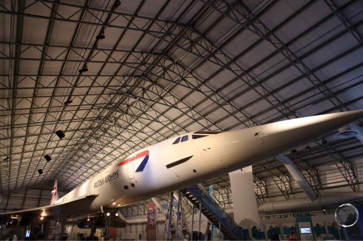 The 'Concorde Experience, allows visitors to tour a decommissioned Concorde.