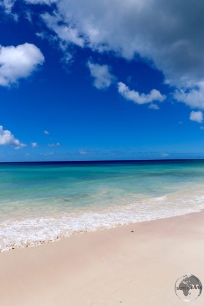 Beach on Barbados.