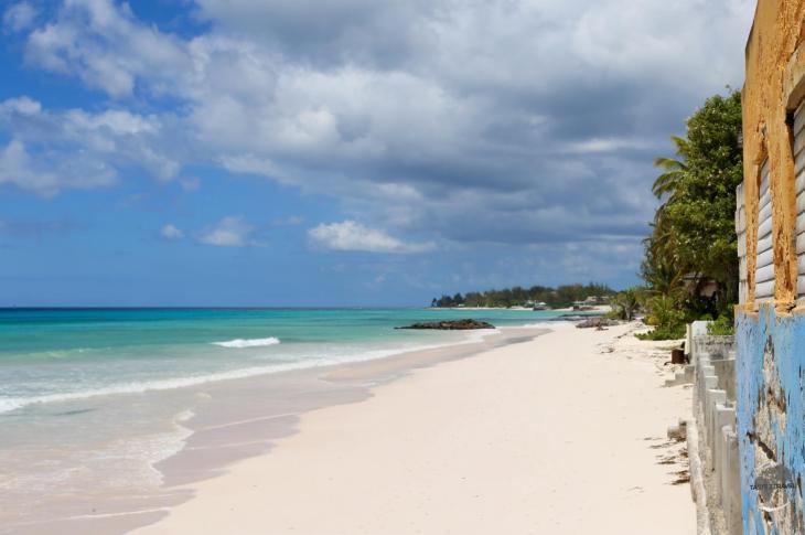 Typical west coast beach