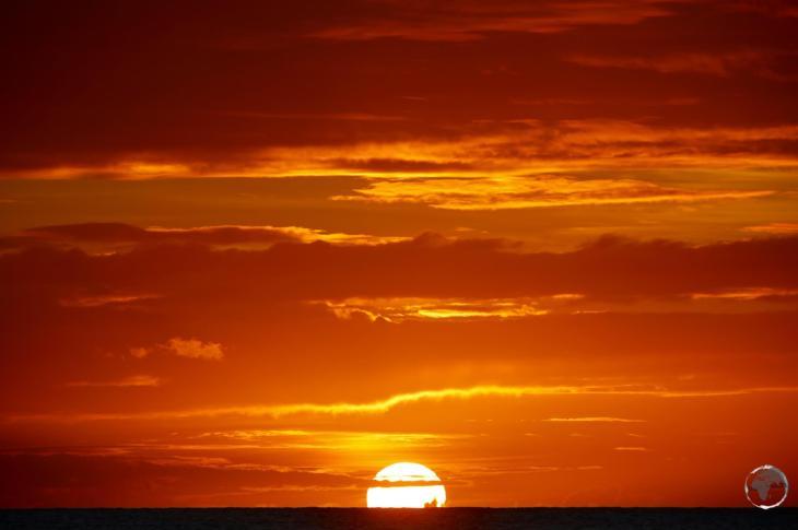 Grenada Travel Guide: Sunset at Morne Rouge beach