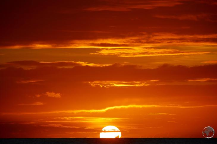 Grenada Travel Guide: Sunset at Morne Rouge beach.