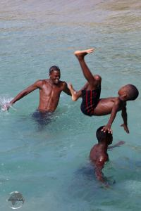 Diving for fun on Mayreau Island