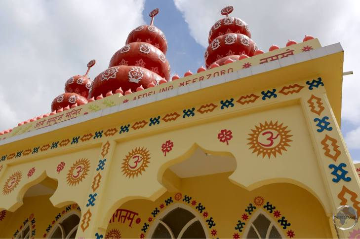 Hindu temple in Paramaribo.