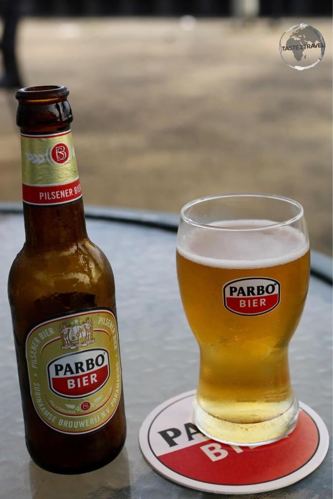 Brewed by Heineken, the very quaffable Parbo beer.