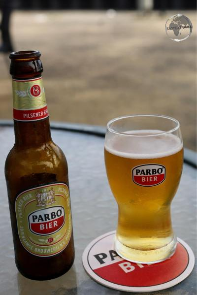 Brewed by Heineken, the local brew, Parbo, is very quaffable and a nice way to cool down on a hot humid day.