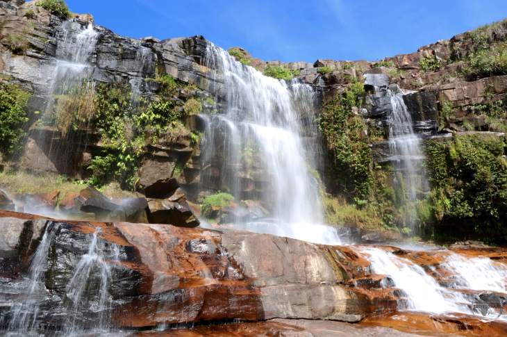 Waterfall in Canaima National Park