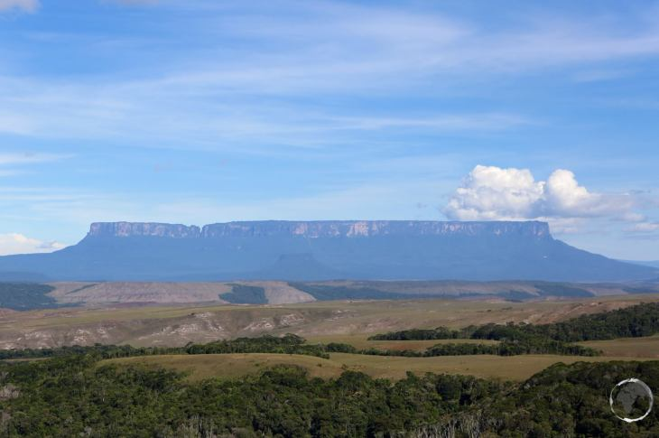 View of Mount Roraima