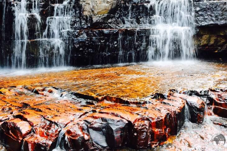 Jasper Creek Waterfalls.