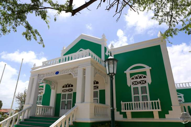 Typical architecture in Oranjestad