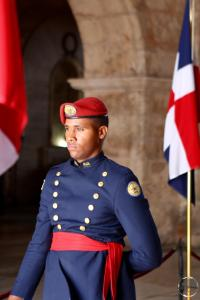 Guard at the National Pantheon