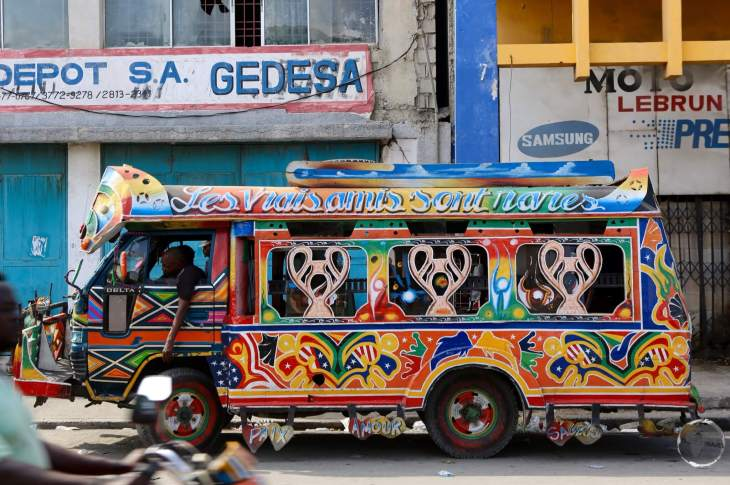 'Tap-Tap' in Port-au-Prince