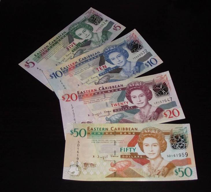 The Eastern Caribbean dollar.