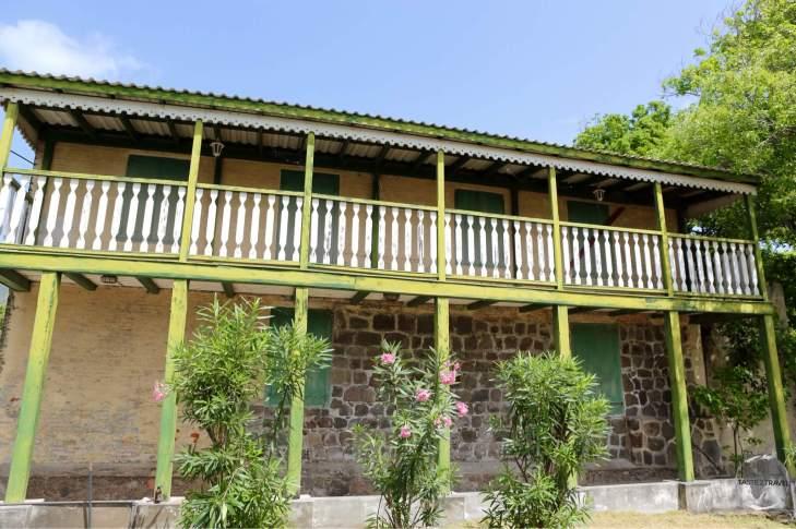 Colonial-era building on Sint Eustatius.