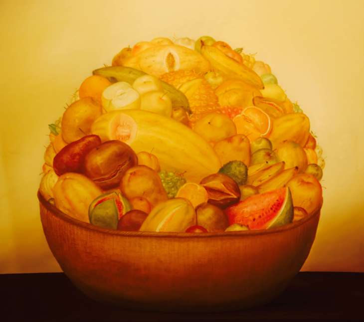 Feature: Fruits of Colombia: 'Flores' by Botero, Medellin, Colombia