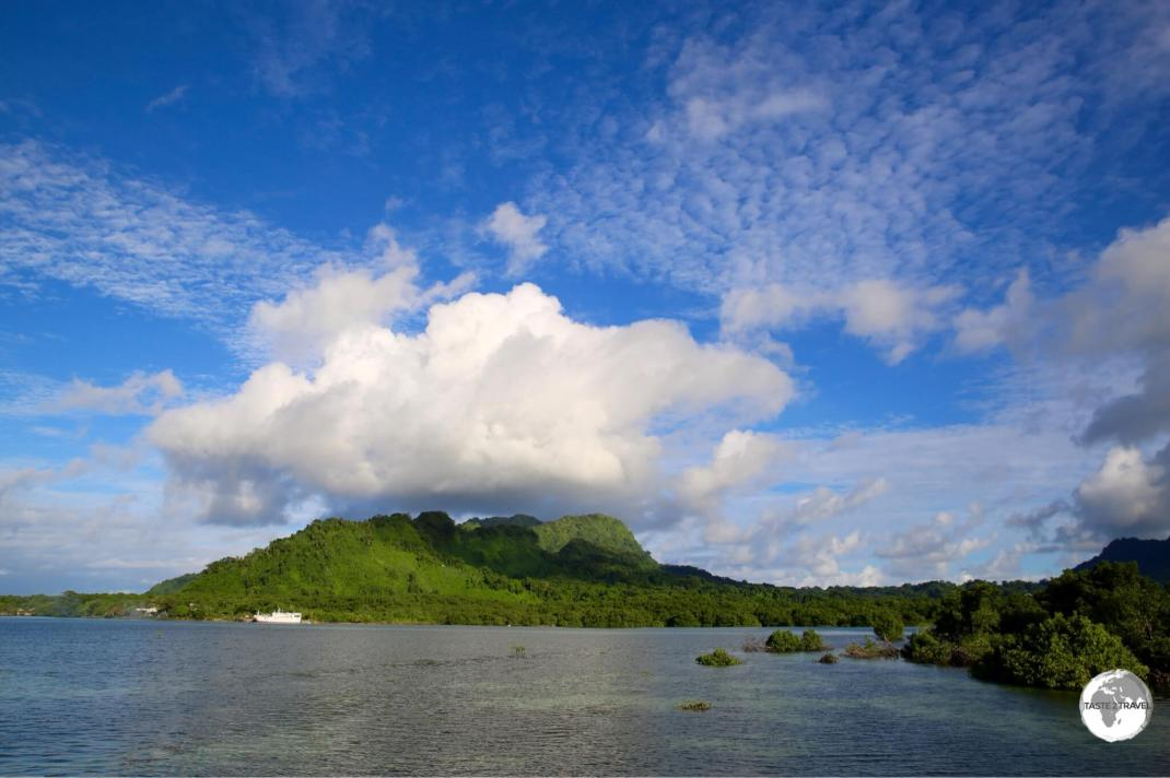 View of Kosrae Island