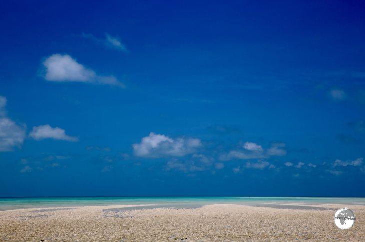 Low tide on North Tarawa.