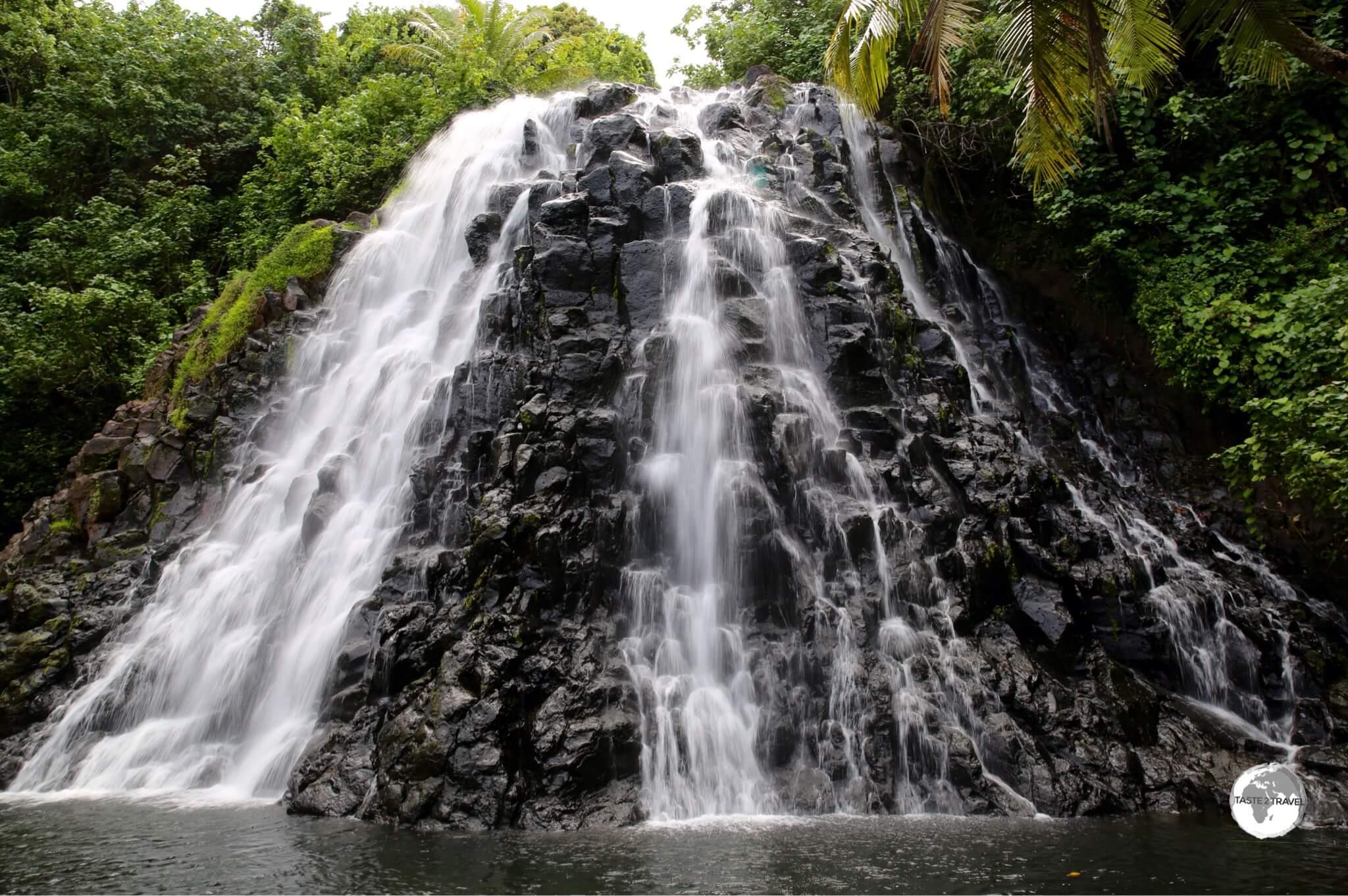 Kepirohi waterfall.