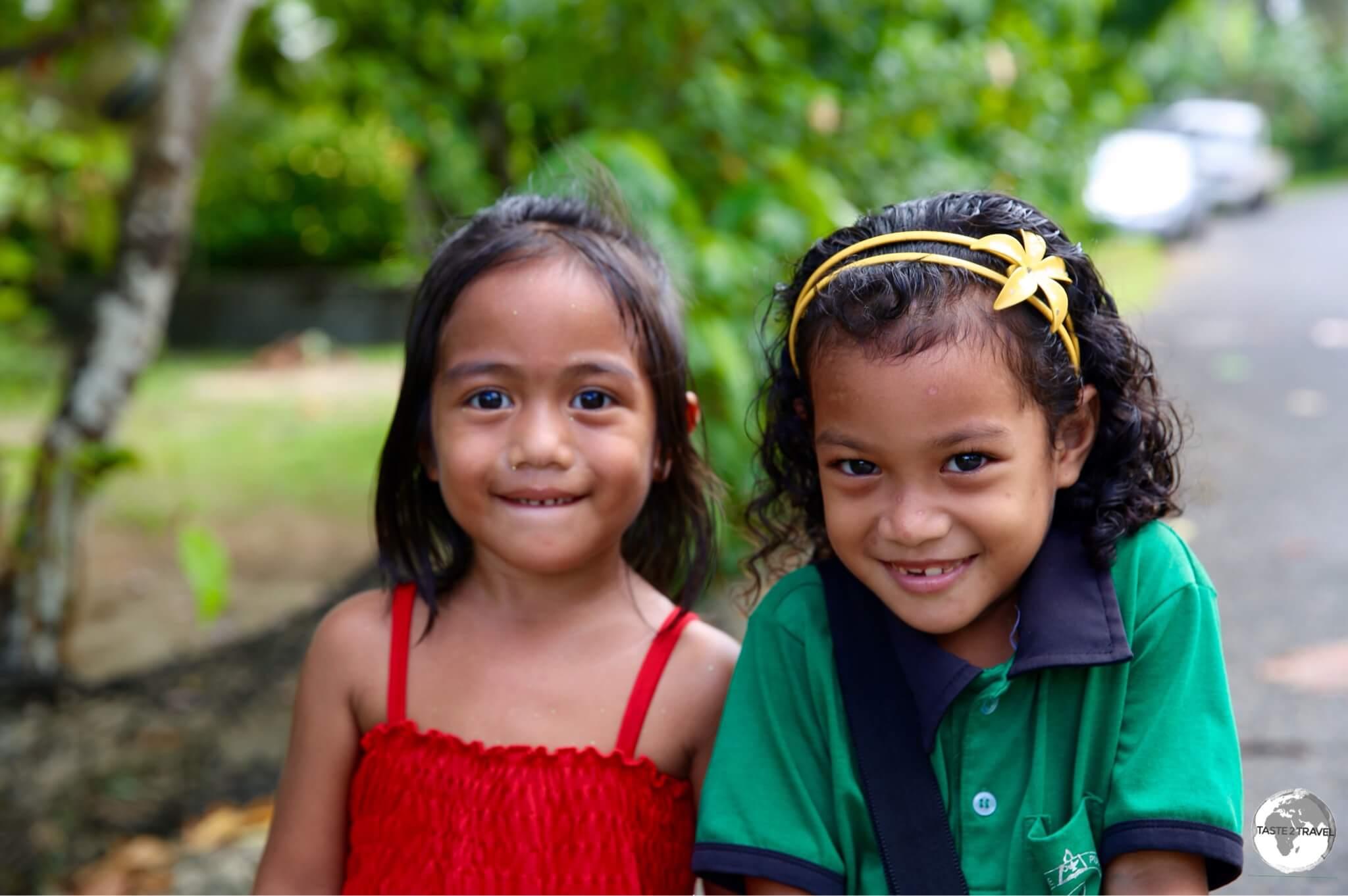 No shortage of smiles on Pohnpei.