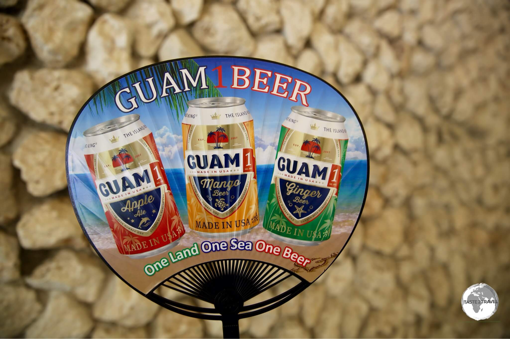 I too was a 'fan' of the local Guam beer.