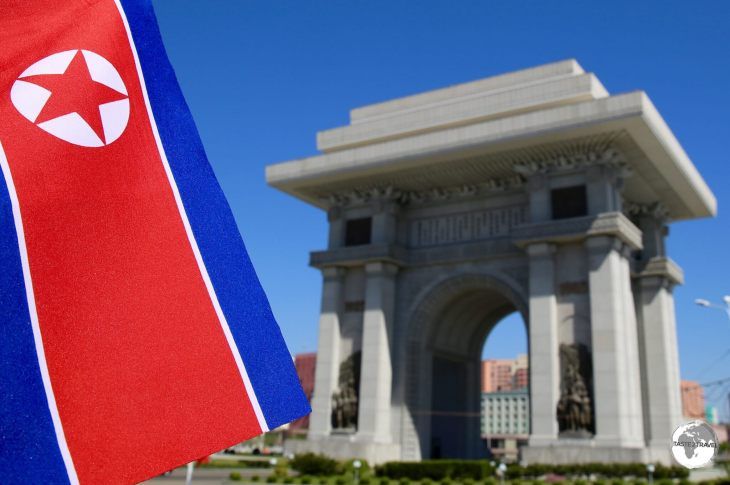 The Arch of Triumph in Pyongyang, which our Korean guide was proud to tell us, is taller than the one in Paris.