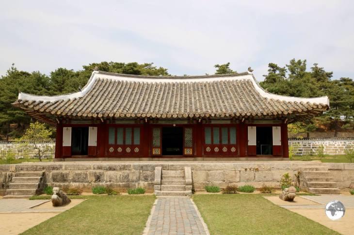 The Koryo Museum in Kaeson.