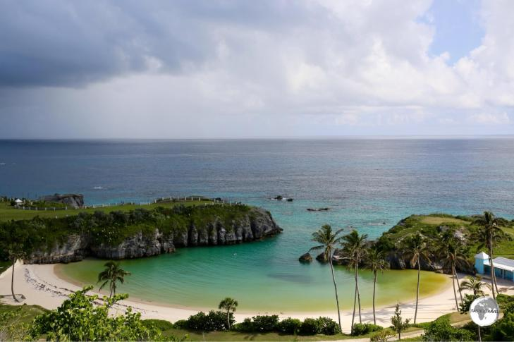 There's no shortage of beautiful beaches on Bermuda.