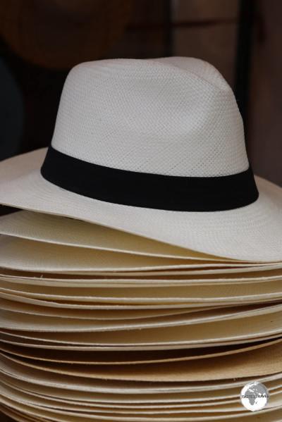 Whenever I'm in Panama City, I treat myself to a new Panama hat.