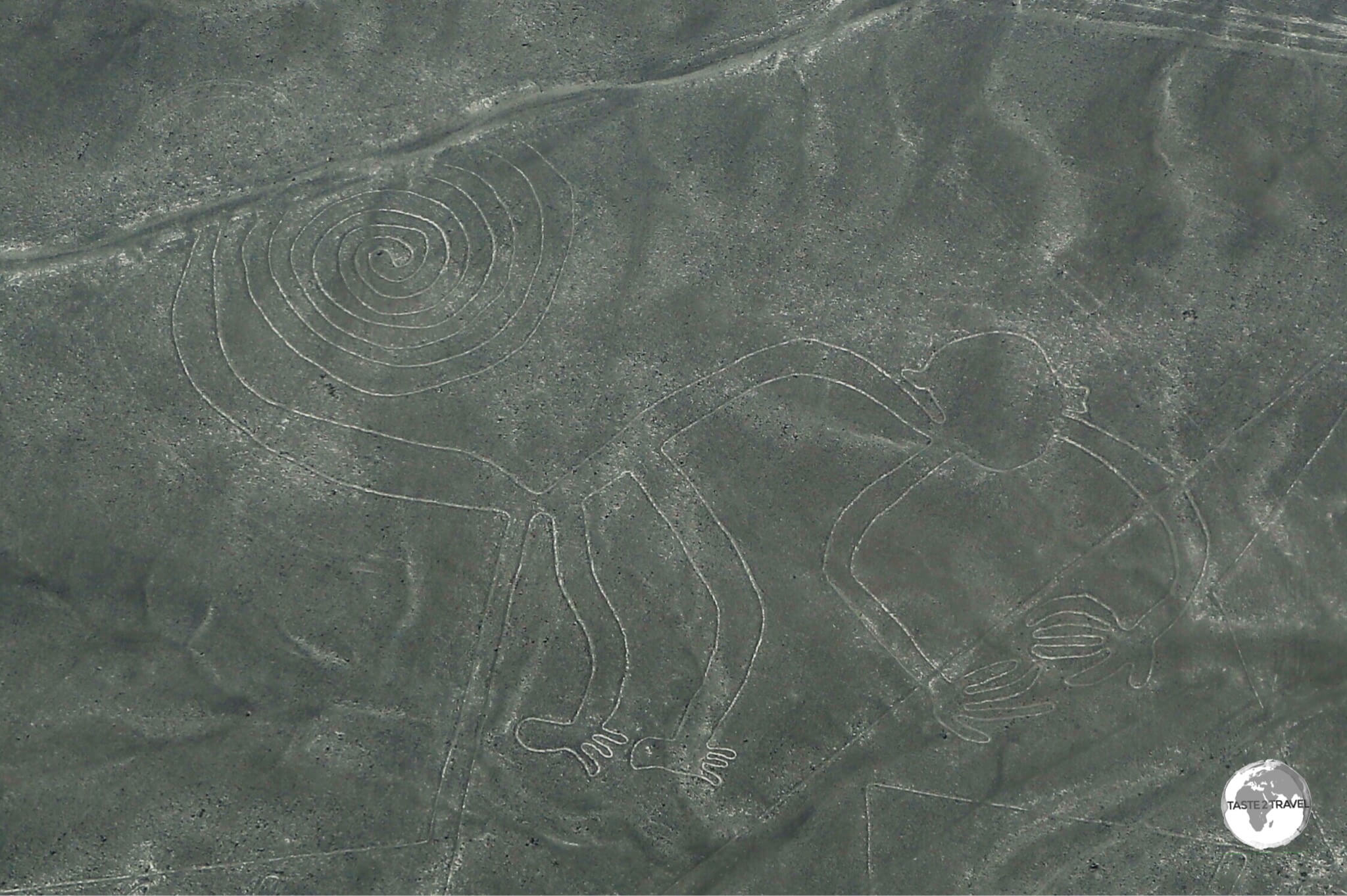 The Nazca Lines are a collection of giant geoglyphs in Peru.