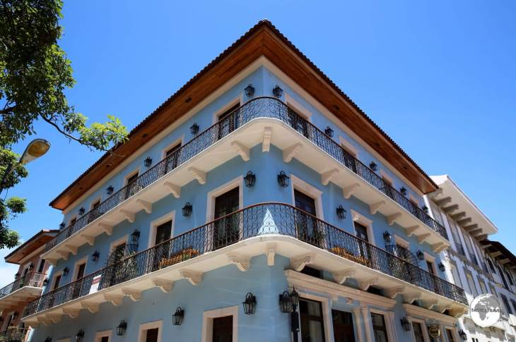 The Casco Antiguo (old town) of Panama City is full of Spanish architectural gems which are slowly being renovated.