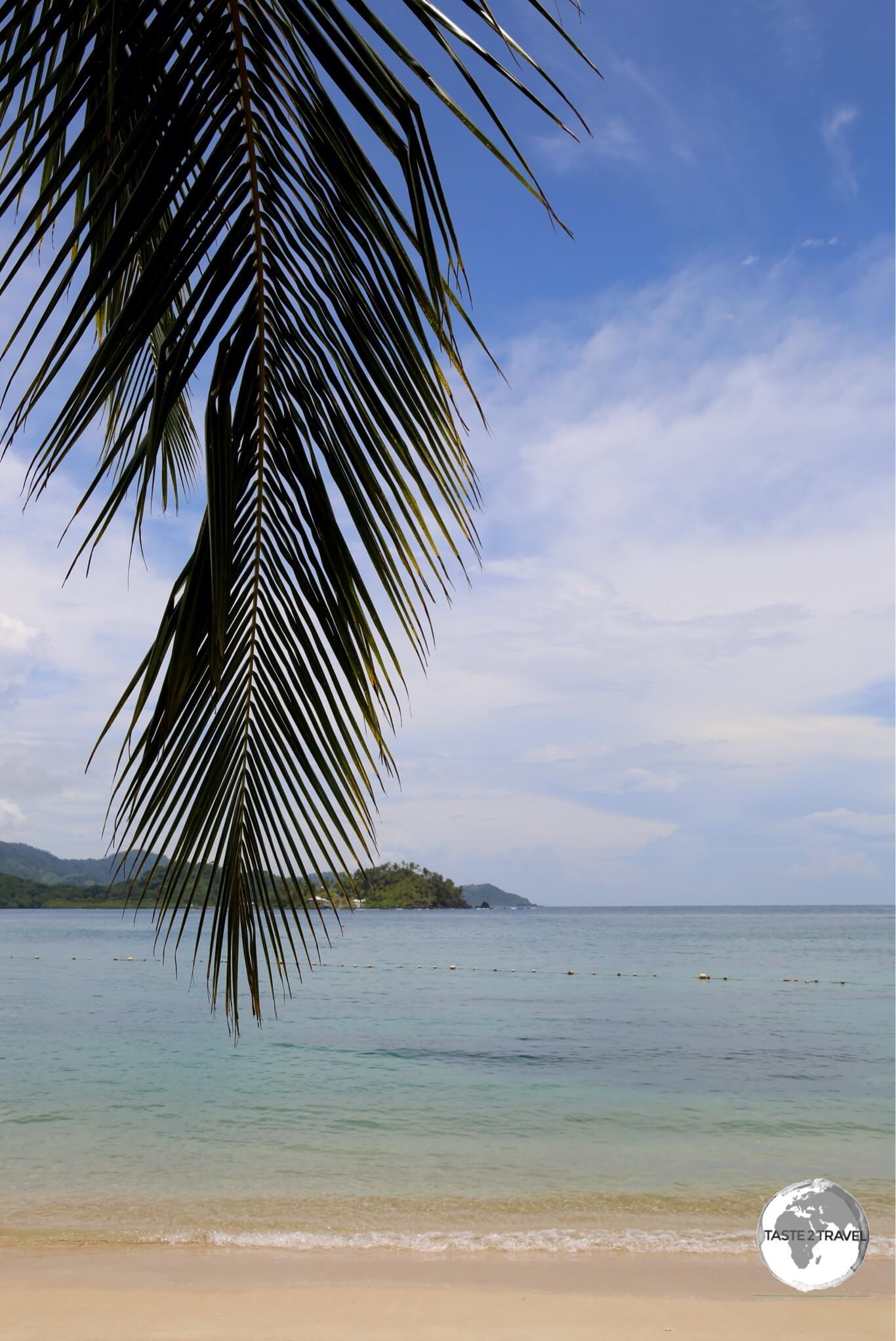 Playa Blanca on the Caribbean island of Isla Grande.
