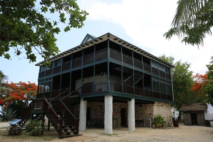 Pedro St. James Castle, the oldest existing building in the Cayman Islands.