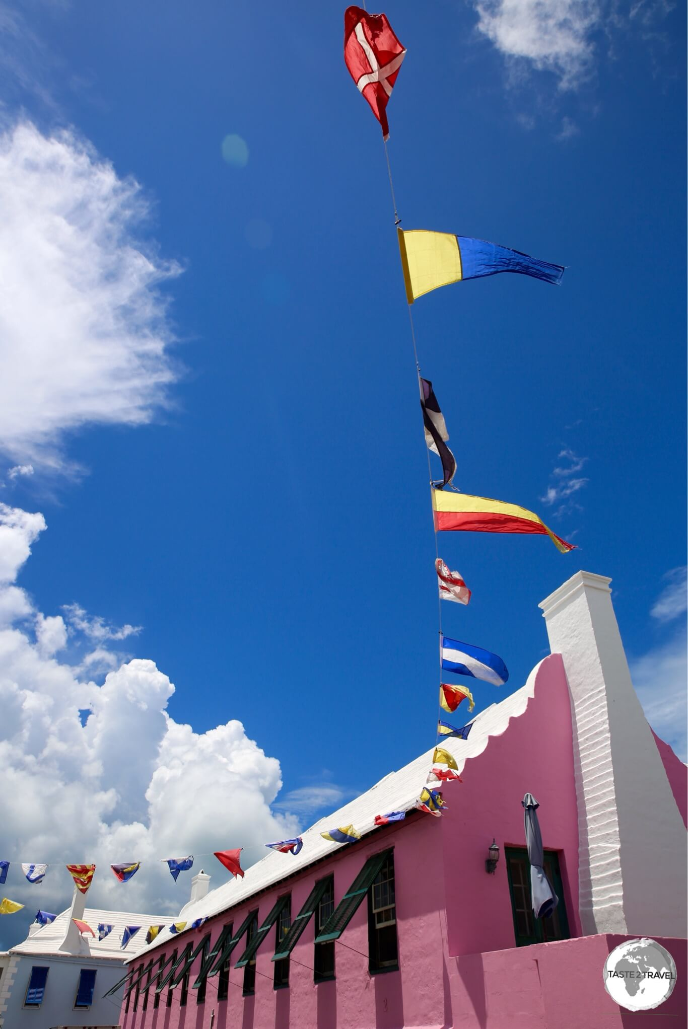 Colourful St. Georges, the former capital of Bermuda.