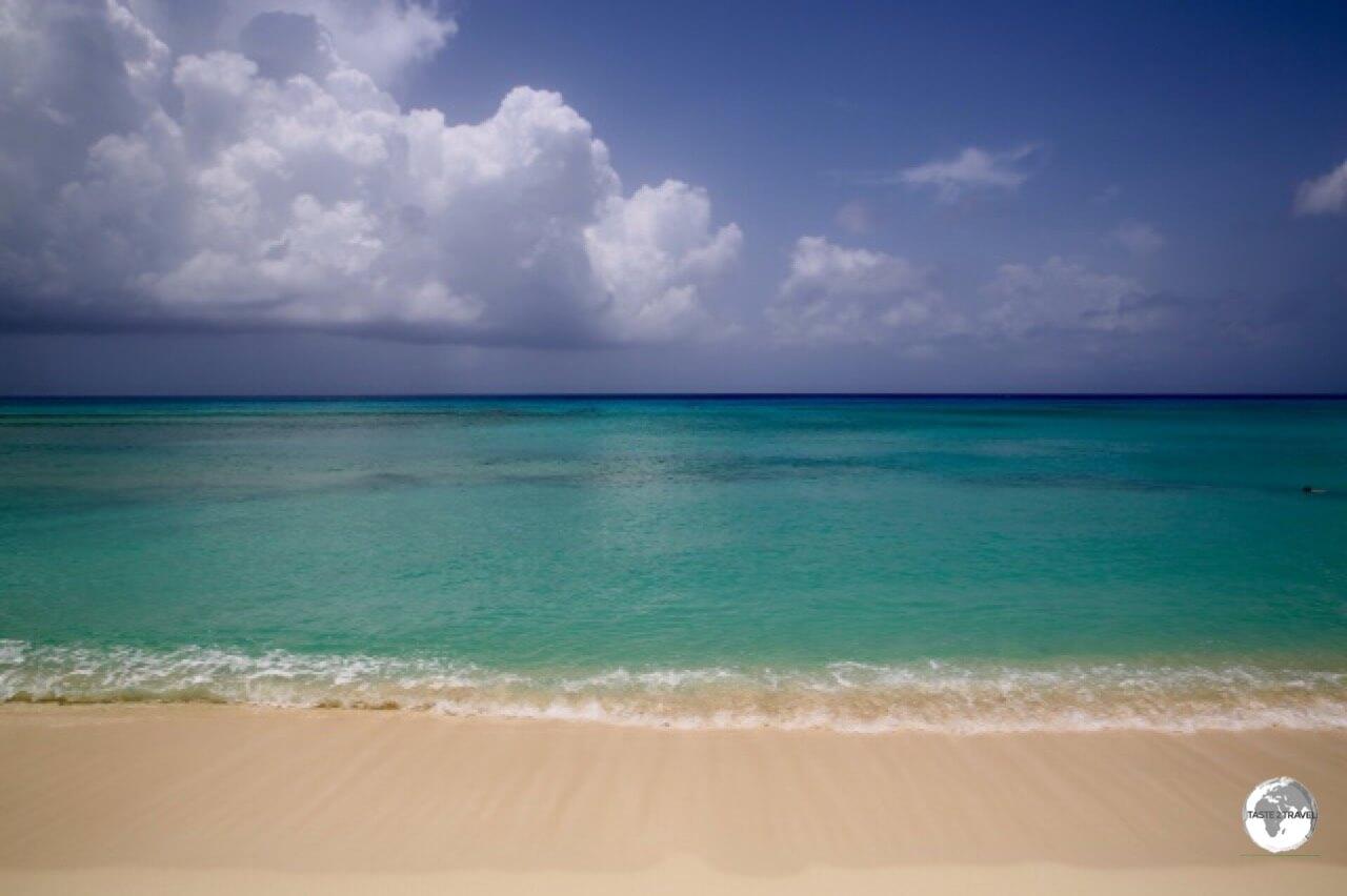 West Bay Beach on Grand Cayman.