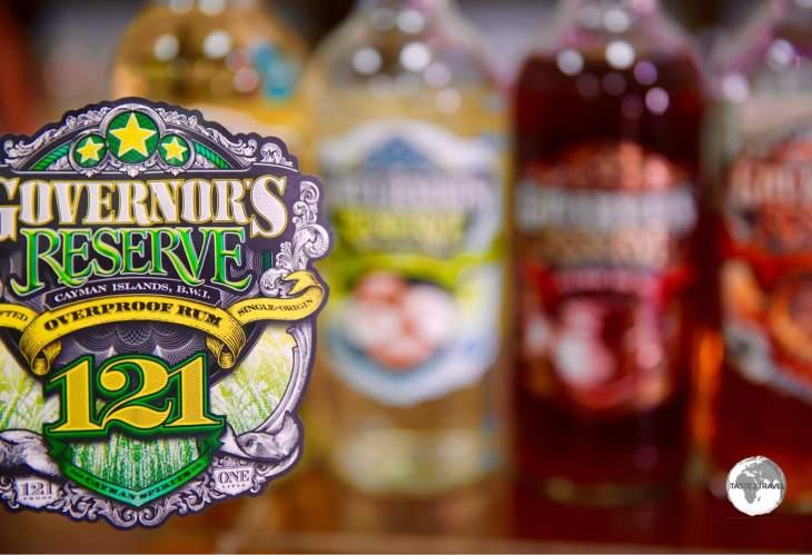 Governor's Reserve Rum, Cayman Spirits Company.