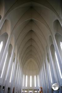 Interior of Hallgrímskirkja