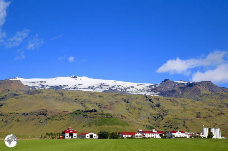 Eyjafjallajökull volcano.