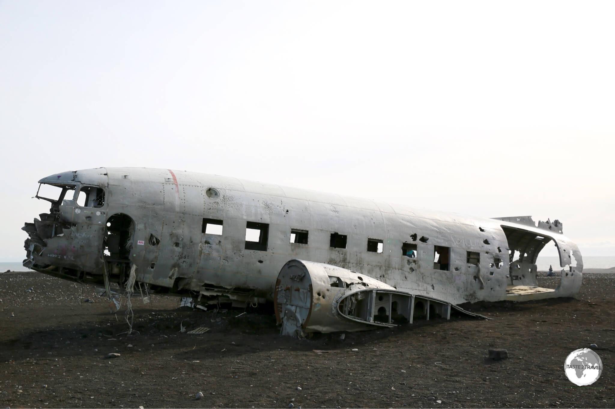 Sólheimasandurplane wreck.