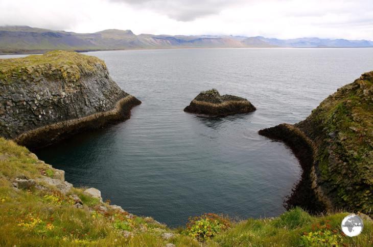View of the coast at Arnarstapi